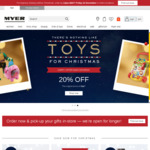 $10 off $60, $15 off $80, $20 off $100 Spend @ Myer (Stackable so $45 off $100 Spend)