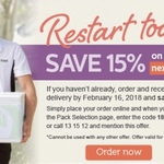 Lite N' Easy 15% off on Your Next Delivery