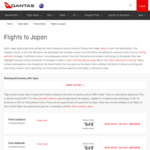 Qantas Return Flights to Osaka $649 & Tokyo $699 (from Most Capital Cities - Direct from Syd & Bris)