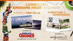 Win a Furniture Package & Family Holiday in LA Worth $50,000 from Network Ten