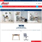 Win a Selena Desk & Davis Office Chair Worth $288 from Super A-Mart