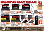 MLN 24 Hour Boxing Day SALE, Starts 1 Minute after Midnight, @ MLN Online and Instore [Finished]