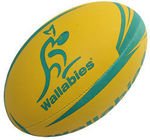 Gilbert Wallabies Rugby Supporter Ball Size 5 - Gold $14.99 Delivered @ Catch eBay