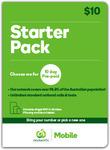 10GB (1GB + 9GB Bonus) Prepaid Mobile SIM Kit for $10 (10 Day Expiry) @ Woolworths Mobile