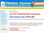60% OFF All Canvas Printing Products at Chenoa Canvas