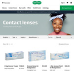 10% off Contact Lenses + Free Standard Delivery @ Specsavers