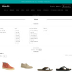 Clarks Shoes - Take a Further 20% off Sale Items