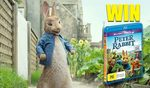 Win 1 of 5 Peter Rabbit Blu-Rays from Spotlight Report