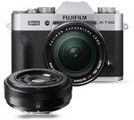 Fujifilm X-T20 Mirrorless Camera with Two Lenses $1636 ($1236 after $400 Cashback from Fujifilm) @ Ted's Camera