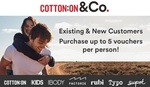 Groupon - Cotton On: $30 Credit for $5 for New and Existing Customers (Minimum Spend $90)