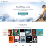 "Scribd 2 Months Free (New Users) - ""Unlimited"" Audiobooks, Magazines, eBooks etc (Normally $8.99USD/Month)"