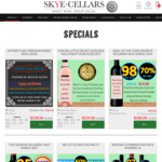 Father's Day Premium Mixed Reds at $138/Dozen (Delivered) @ Skye Cellars