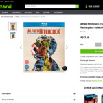 Alfred Hitchcock: The Masterpiece Collection Blu-Ray $49.48 Delivered @ Zavvi
