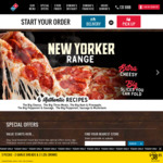 ½ Price Traditional & Premium Range Pizzas @ Domino's (Appears to Work Nationally)
