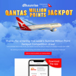 Download Qantas Well-Being App and Complete 10000 Step Daily Challenge for 1000 QFF Points