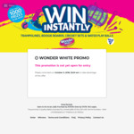 Win a Share of $47,145 Worth of Prizes from Quality Bakers [Purchase Wonder White][Except QLD]