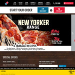 3 Traditional/Value Pizzas + 3 Selected Sides $29.95 Pickup or $36.95 Delivered, 2 for 1 Tuesday @ Domino's