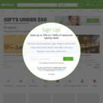 Extra 10% off Sitewide (Max $40 Discount, Unlimited Redemptions) @ Groupon
