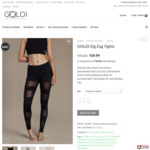 Activewear Tights $39.99 (down from $90) + Shipping @ GOLDIFIT