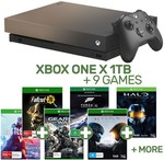 Xbox One X 1TB Gold Rush Special Edition Console + 9 Games $598 @ EB Games