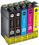 Compatible Epson 220XL Ink Cartridge $14.36 (20% off) + Delivery (Free with Prime/ $49 Spend) @ Hehua-AU Amazon