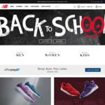 New Balance - 20% off Full Price Items with $100 Minimum Spend