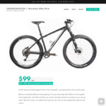 [Sydney] 50% off All Mountain Bike Hire Bookings @ Crankswagon - $49.50 Per Day + Free Bike Delivery & Pickup