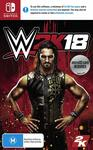 [Switch] WWE 2K18 $18 + Delivery (Free with Prime/ $49 Spend) @ Amazon Australia