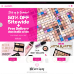 50% off Sitewide Including Sale Items + Free Shipping No Min Order @ Australis