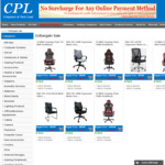 Up to $30 off R&G Gaming & Office Chairs + Delivery @ CPL Online