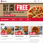 Buy 1 Large Pizza ($13.95 or above) & Get 1 Free @ Pizza Hut