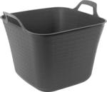 Ezy Storage 42L Grey Rattan Flexi Tub $3.94 (Was $10.99) @ Bunnings Warehouse