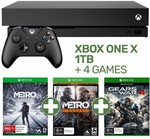 1TB Xbox One X + 4 Games $299 with Xbox One S + 2 Games Trade in @ EB Games