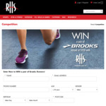 Win a Pair of Brooks Runners Worth $220 from RHSports