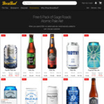 Free 6 Pack of Gage Roads Atomic Pale Ale with $50+ Spend on Selected Pale Ale @ Boozebud