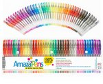AmazaPens Gel Colouring Pens 40 Pack $17.99 + Delivery (Free with Prime / $49 Spend) @ Regal Goods Amazon AU