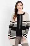 Maggie.T Striped Coatigan - $22.50 (With Code) or $17.50 (For New Members) + Free Delivery @ Millers (Was $89)