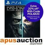 [PS4] Dishonored 2  $6 + Delivery (Free with eBay Plus) @ Apus Auction eBay