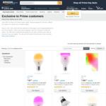 [Amazon Prime] Save 40% on Select LIFX Smart Home Light @ Amazon AU