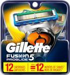 [Amazon Prime] Gillette Fusion5 ProGlide Men's Razor 12 Blade Refills $38.27 Delivered @ Amazon US via AU