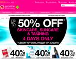 1/2 Price Andalou, Sukin, 40% off La Roche-Posay, Avene, L'Oreal, Neutrogena, Nivea, Trilogy Skin Care + More @ Priceline