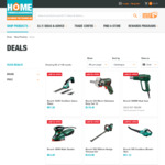 40% off RRP on Bosch Green DIY Products @ Home Timber and Hardware