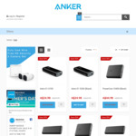 Save up to 50% off Selected Items @ Anker