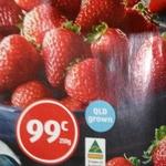 [QLD] Australian Strawberries 250g $0.99 @ ALDI