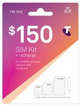 Telstra $150 Prepaid Starter Kit for $110 - Free Delivery Australia Wide @ CELLMATE