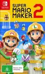 [Switch] Super Mario Maker 2 $59 @ Amazon AU & JB Hi-Fi
