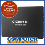 "120GB Gigabyte 2.5"" SATA 6GB/s SSD $23.50 + Delivery (Free with eBay Plus) @ Computer Alliance eBay"