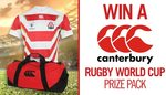 Win a Canterbury Rugby World Cup Home Pro Jersey & Pack-Away Bag Worth $209.90 from Seven Network