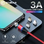 Magnetic USB-C / Lightning / Micro USB Charging Cable US $4.04 (AU $5.90), Portable Travel Fan US $10.99 (AU $16.28) @AliExpress