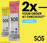 Get 2x (Double) What You Order When You Spend Over $100 @ SOS Hydration